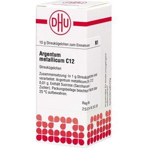 ARGENTUM METALLICUM C 12 Globuli
