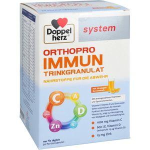 DOPPELHERZ Orthopro Immun Trinkgranulat system