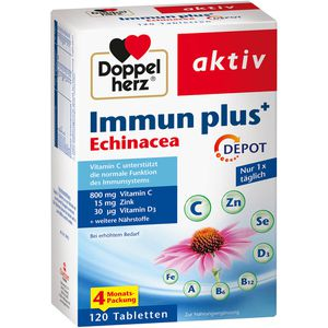 DOPPELHERZ Immun plus Echinacea Depot Tabletten
