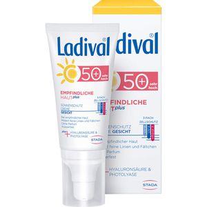 LADIVAL empfindliche Haut Plus LSF 50+ Creme