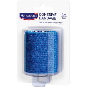 HANSAPLAST Fixierbinde selbsthaft.6 cmx4 m blau