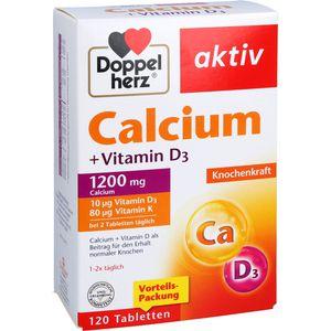 DOPPELHERZ Calcium+Vitamin D3 Tabletten