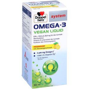 DOPPELHERZ Omega-3 vegan Liquid system