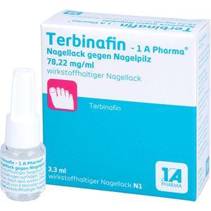 TERBINAFIN-1A Pharma Nagell.g.Nagelpilz 78,22mg/ml