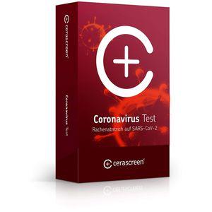 CERASCREEN Coronavirus Test Rachenabstr.COVID-19