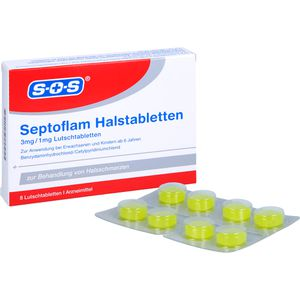 SEPTOFLAM Halstabletten