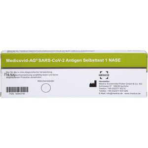 MEDICOVID-Ag SARS-CoV-2 Antigen Selbsttest