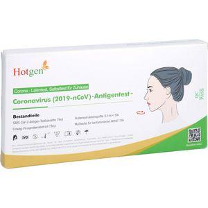 HOTGEN Coronavirus 2019-nCoV Ag Test Laien Nase