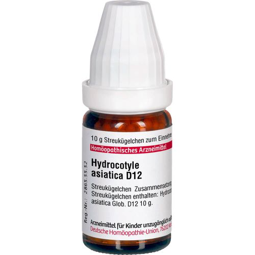 HYDROCOTYLE asiatica D 12 Globuli