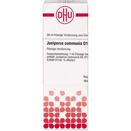 JUNIPERUS COMMUNIS D 12 Dilution