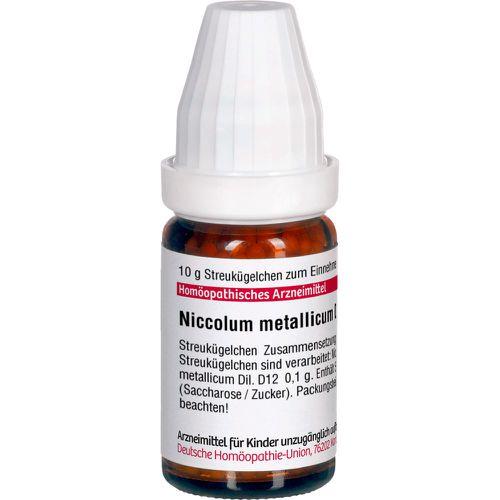 NICCOLUM METALLICUM D 12 Globuli