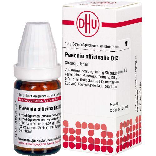 PAEONIA OFFICINALIS D 12 Globuli