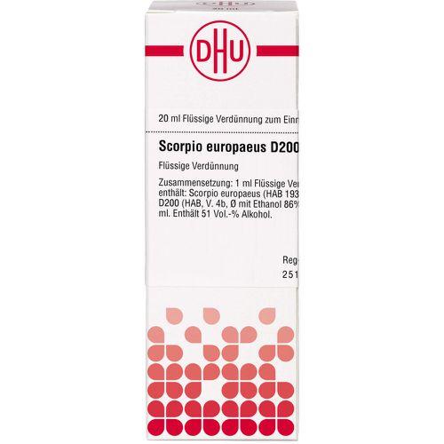 SCORPIO EUROPAEUS D200 Dilution