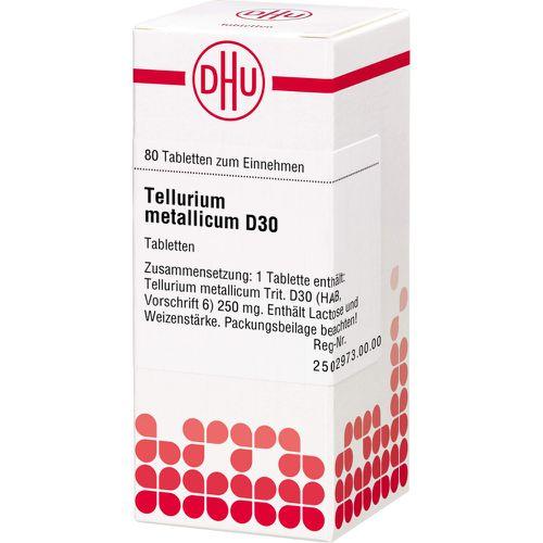 TELLURIUM metallicum D 30 Tabletten