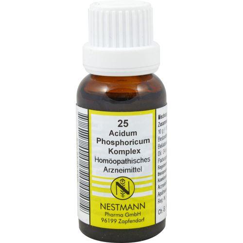 ACIDUM PHOSPHORICUM KOMPLEX Nr.25 Dilution