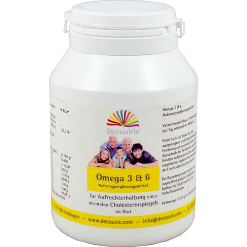 OMEGA-3 & 6 Kapseln