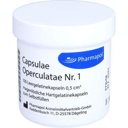 CAPSULAE Operculatae Kapseln Nr.1 0,5