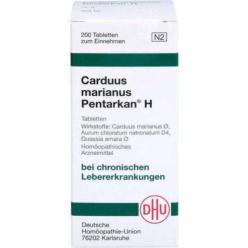 CARDUUS MARIANUS PENTARKAN H Tabletten