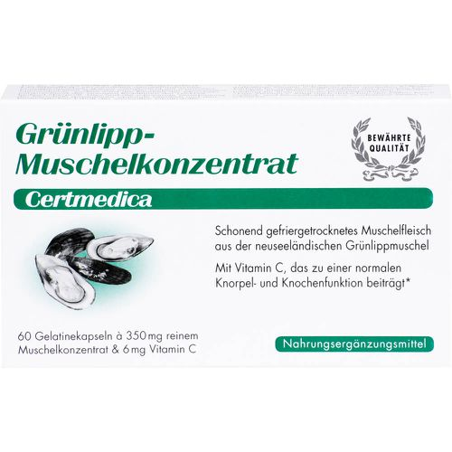 GRÜNLIPPMUSCHEL KONZENTRAT Kapseln