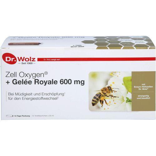 ZELL OXYGEN+Gelee Royale 600 mg Trinkampullen