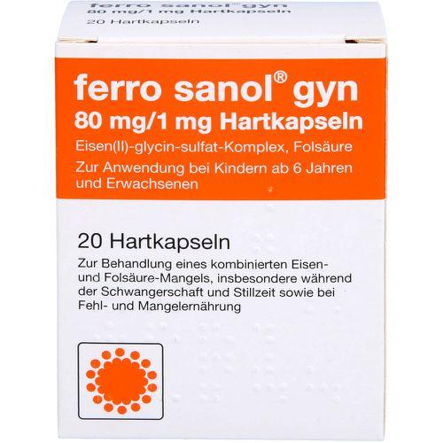 FERRO SANOL gyn Hartkaps.m.msr.überz.Pellets