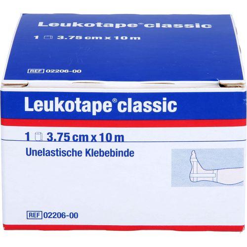 LEUKOTAPE Classic 3,75 cmx10 m weiß