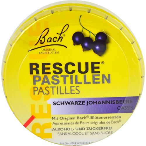 BACH ORIGINAL Rescue Pastillen schw.Johannisb. (Nachfolger Rescura PZN 16391729)