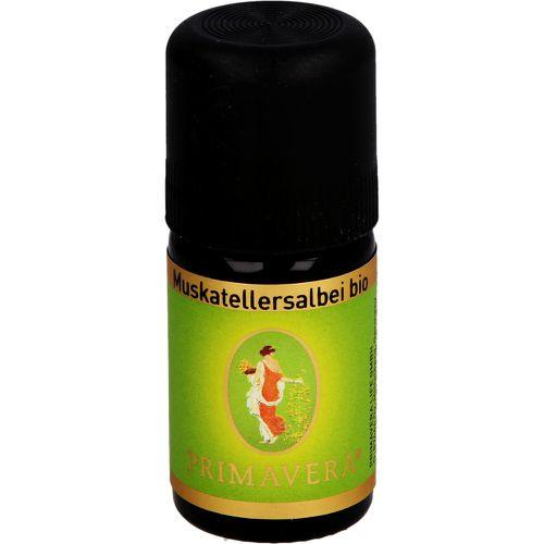MUSKATELLERSALBEI kbA ätherisches Öl