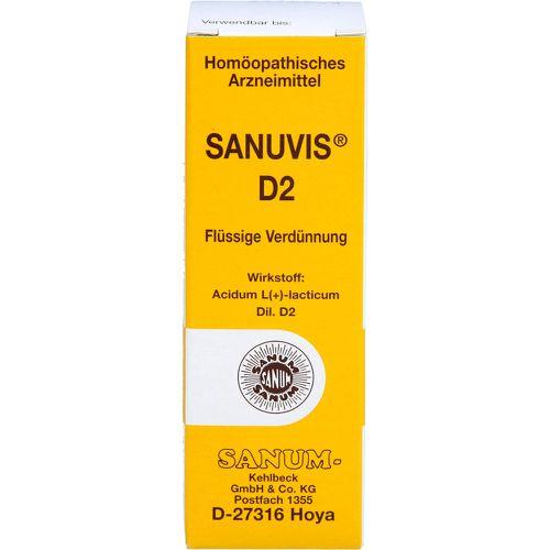 SANUVIS D 2 Tropfen