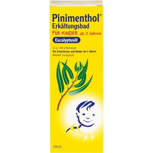 PINIMENTHOL Erkältungsbad f.Kinder ab 2 Jahr.Euca.