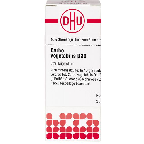 CARBO VEGETABILIS D 30 Globuli