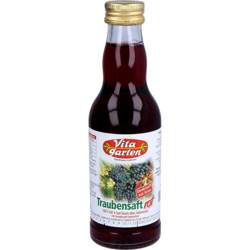 VITAGARTEN roter Traubensaft+Eisen Einwegflasche