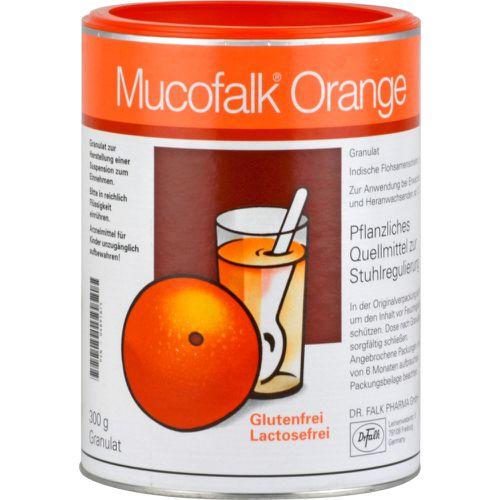MUCOFALK Orange Granulat Dose