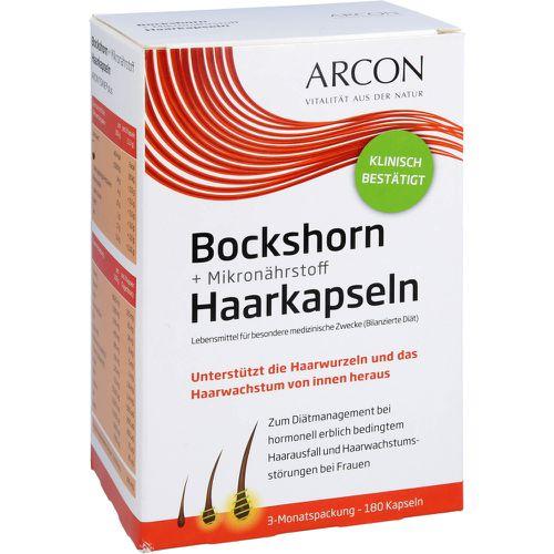 BOCKSHORN+Mikronährstoff Haarkapseln Tisane plus