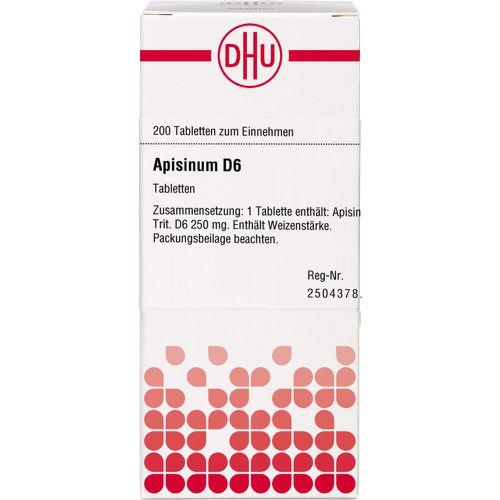 APISINUM D 6 Tabletten