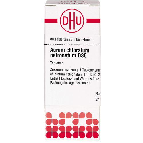 AURUM CHLORATUM NATRONATUM D 30 Tabletten