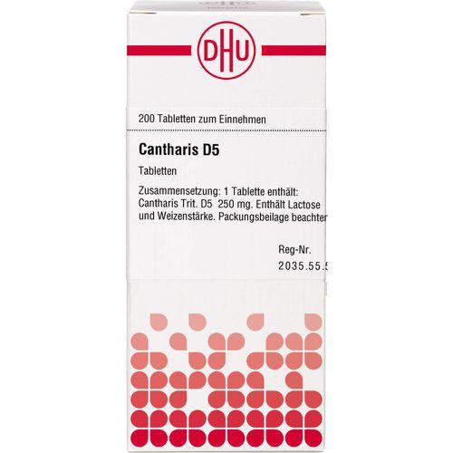 CANTHARIS D 5 Tabletten