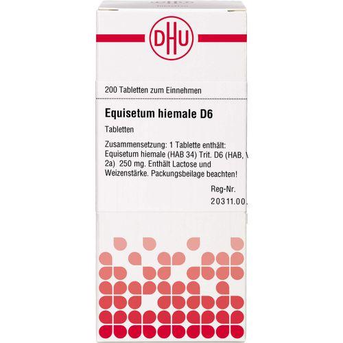 EQUISETUM HIEMALE D 6 Tabletten