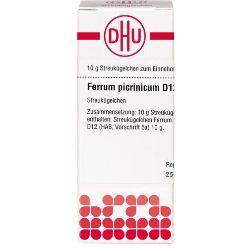 FERRUM PICRINICUM D 12 Globuli