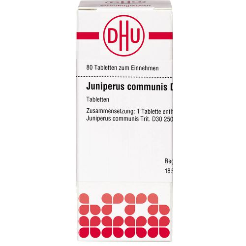 JUNIPERUS COMMUNIS D 30 Tabletten