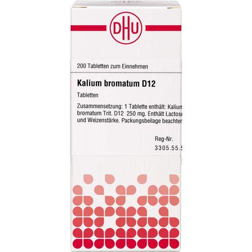 KALIUM BROMATUM D 12 Tabletten