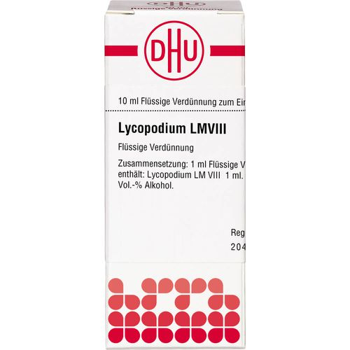 LM LYCOPODIUM VIII Dilution