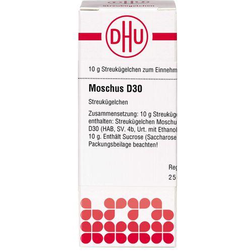 MOSCHUS D 30 Globuli