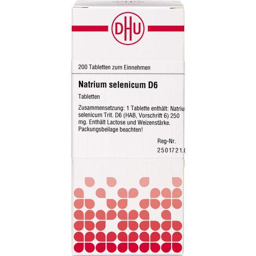 NATRIUM SELENICUM D 6 Tabletten