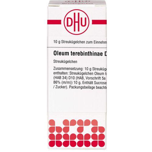 OLEUM TEREBINTHINAE D 10 Globuli