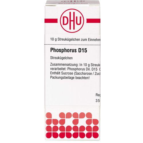PHOSPHORUS D 15 Globuli