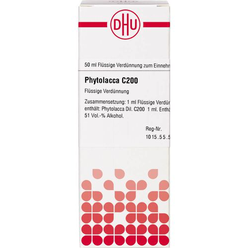 PHYTOLACCA C 200 Dilution