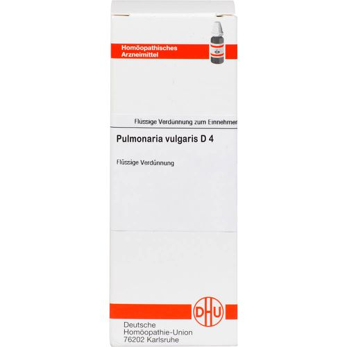 PULMONARIA VULGARIS D 4 Dilution