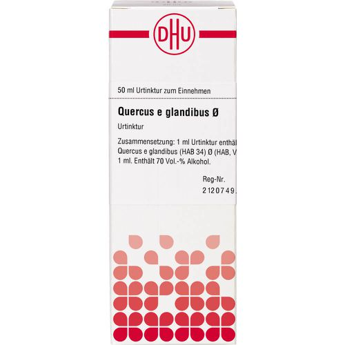 QUERCUS E GLANDIBUS Urtinktur D 1