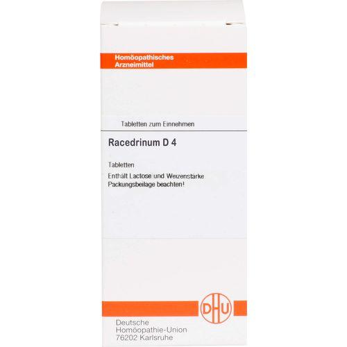 RACEDRINUM D 4 Tabletten